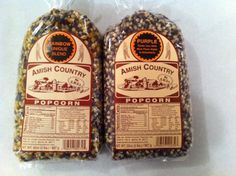 Amish Country Popcorn Variety 2 Bags 2 Lbs Each Total 4 Lbs Non Gmo Rainbow Unique Blend Purple >>> Click image for more details.