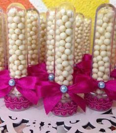 Resultado de imagen para tubetes decoradas para festa infantil