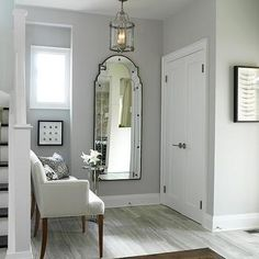 Silver cloud- paint colour for hall?