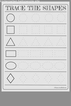 Free printable shapes worksheets for toddlers and preschoolers- Scarlett C.M – Monti Free printable shapes worksheets for toddlers and preschoolers- Scarlett C.M Free printable shapes worksheets for toddlers and preschoolers- Scarlett C. Tracing Worksheets, Shape Worksheets For Preschool, Kindergarten Addition Worksheets, Shapes Worksheets, Preschool Learning Activities, Free Printable Worksheets, Preschool Curriculum, Free Preschool, Kindergarten Math