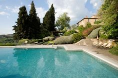Podere Barberino in #Tuscany - a luxury villa with pool within easy walking distance of the pretty Chianti village of Barberino Val d'Alsa