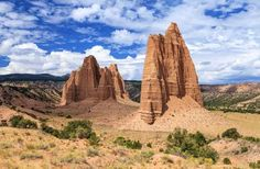 CAPITOL REEF NATIONAL PARK Where: Utah Stretching across 100 miles in southern Utah, Capitol Reef National Park welcomes families to explore the brilliantly colored canyons and ridges plus the Waterpocket Fold, a giant wrinkle in the earth that extends a hundred miles between Thousand Lake Mountain and Lake Powell. The Ripple Rock Nature Center opens its doors to families from the end of May through early September, featuring interactive activities like spinning wool, grinding cornmeal…