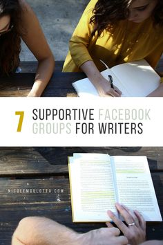 7 Supportive Facebook Groups for Writers
