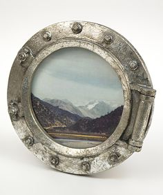 Look at this Porthole Frame on #zulily today!