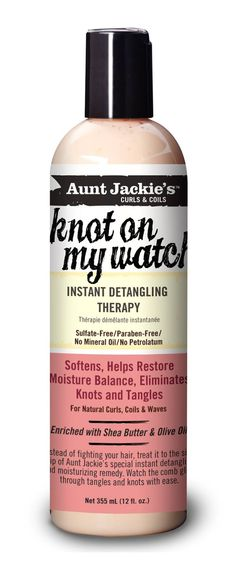 Now with Aunt Jackie's Knot on My Watch Instant Detangling Therapy comb your tangled and hair that is unruly fear of breaking hair. The hair feels silky soft as well as your comb easily slides through your unruly locks. Natural Hair Tips, Natural Hair Journey, Natural Hair Styles, Olaplex Hair Treatment, Tangled Hair, Waves, Thing 1, Natural Haircare, Fragrance Parfum
