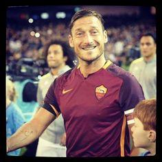 #asroma #RealMadrid #cuoregiallorossa #Totti #10 ❤