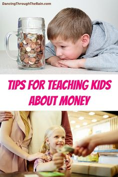 Teaching kids about money is just as important as teaching them to brush their teeth! Before you sit down to talk read these money tips to give you some pointers in the right direction! Money Tips, Money Saving Tips, Teaching Kids Money, Thing 1, Budgeting Tips, Kids Education, Parenting Advice, Life Skills, Pointers