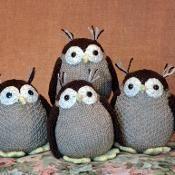 The Owls - via @Craftsy