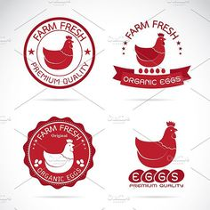 Chicken and eggs label.. Premium Icons. $7.00
