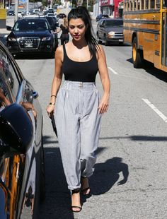 Pin for Later: Kourtney Kardashian Continues Her Flurry of Flawless Appearances in LA