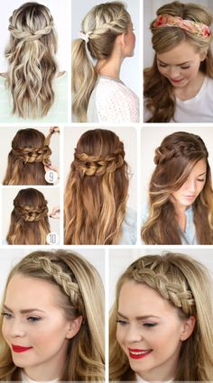 Populer Simple And Easy Hairstyle For Party - Populer Simple And Easy Hairstyle For Party 50 Images party-hairstyles-for-long-hair-using-step-by-step-easy-hairstyles … kpop Haircut trends Medium Long Hair, Medium Hair Styles, Short Hair Styles, Party Hairstyles For Long Hair, Braided Hairstyles, Easy Hairstyle, Simple Hairstyles, Ladies Hairstyles, Style Hairstyle