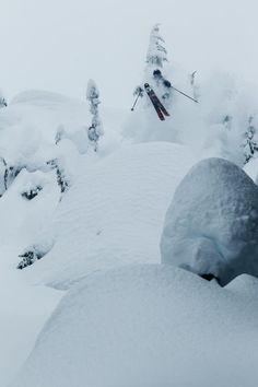 #Pillows #Skiing #BackCountry