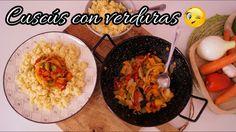 Cuscús con verduras / Receta casera