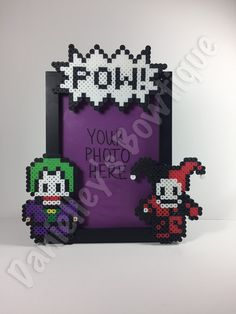 Joker and Harley Quinn Picture Frame