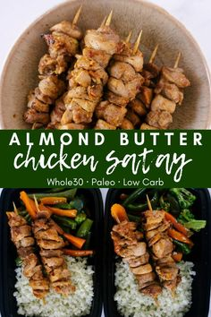 The Rise Of Private Label Brands In The Retail Meals Current Market Almond Butter Chicken Satay Is A Flavorful Chicken Skewer That Is And Paleo Friendly. This Simple Chicken Recipe Is Perfect For Meal Prep Or A Party Appetizer. Butter Chicken, Chicken Satay, Chicken Skewers, Chicken Menu, Chicken Curry, Keto Chicken, Fried Chicken, Best Paleo Recipes, Top Recipes