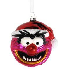 Blown Glass Muppets Ornament