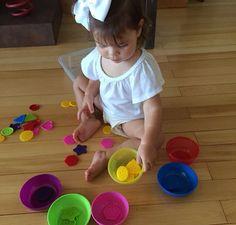 Separando os botões por cores!