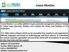 Leave Management Software, Staff Management System, Absence Management Software