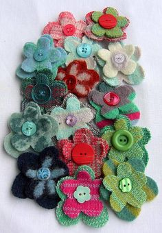 colourful flower corsage by betty 2 shoes   notonthehighstreet.com