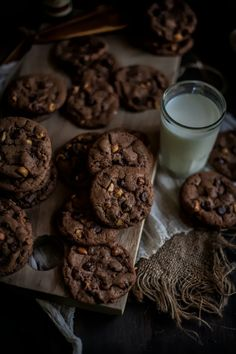 Adventures in Cooking: Malted Hazelnut & Nutella Chocolate Chip Cookies, Plus a Giveaway!