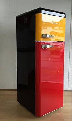 Deutschland   Schwarz Rot Gold   Retro Kühlschrank Belgien Schwarz Gelb Rot  Glanz / Belgien /