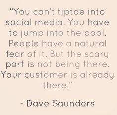 #bridgeinteractivemedia #socialmedia #consulting #management #marketing #branding #socialmediaquote #davesaunders
