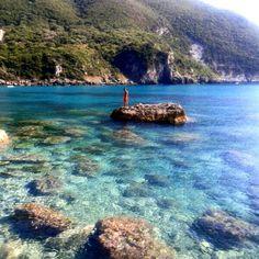 Ermones beach, Corfu