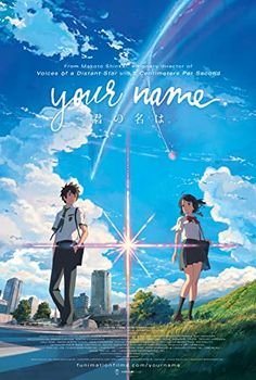Your Name. (2016) Watch Your Name, Your Name Movie, Your Name Anime, Kimi No Na Wa, Your Name 2016, Makoto Shinkai Movies, Best Drama Movies, Mitsuha And Taki, Japanese Animated Movies
