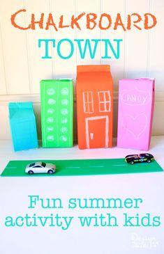 Chalkboard town: Fun
