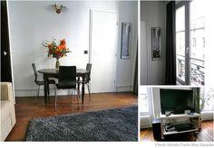 3つの壁の表情を持つヨーロピアンなアパルトマンのリビングルーム 画像3