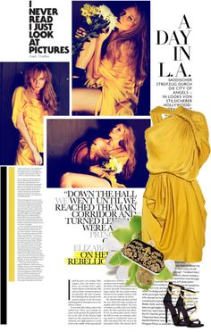 """YEllow"" by jelena-stanojevic on Polyvore"