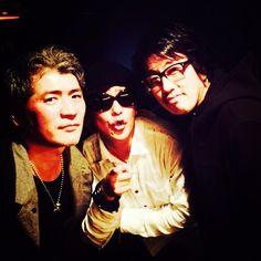 http://instagram.com/p/ulQdjIEou7/ showayanocozey:吉川晃司さん、岡村靖幸さんと俺。本来ならば尾崎豊さんの場所に俺。泣きます。
