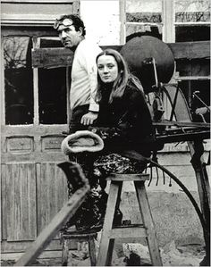 Jean Tinguely and his wife Niki de Saint Phalle