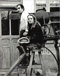 Jean Tinguely and his wife Niki de Saint Phalle
