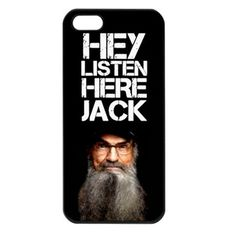 Duck Dynasty Hey listen here Jack iPhone 5 Case  DANK WOAHH!