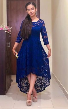 Anushka sen cute and hot bollywood Indian actress model unseen latest very beautiful and sexy wedding smile images of her body curve south r. Frock For Teens, Frock For Women, Casual Frocks, Party Frocks, Indian Actress Hot Pics, Girl Celebrities, Celebs, Stylish Girl Pic, The Dress