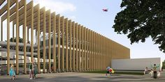 3º Lugar, Concurso para o Pavilhão do Brasil na Expo 2015 // 3rd place, Design Competition for the Brazilian Pavilion in Expo 2015