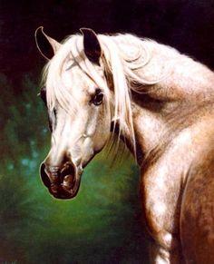 """Paintings by Vicki Portrait of """"Maar Ree"""""""