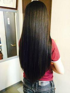Long Black Hair, Very Long Hair, Dark Hair, Thick Hair, Beautiful Long Hair, Gorgeous Hair, Simply Beautiful, Silky Hair, Hair Lengths