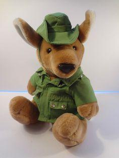 Dakin Kangaroo 11 Inch Duke Down Under Vintage 1987 Plush Australian Kamgaroo Kangaroo, Duke, Plush, Teddy Bear, Search, Toys, Animals, Vintage, Ebay