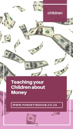 """Hi all. I have decided this month's column is going to be information about """"teaching your children about money"""" because let's face it, it is a very important skill to learn and the earlier you can teach your kids about money the better. My kids are 8 and 12 years old and I really wish I had started teaching them about money sooner. Financial Tips, Parenting Advice, Say Hello, Tween, Your Child, Keep It Cleaner, Children, Kids, Teaching"""