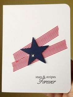 Stars and Stripes Forever by Zoie - Cards and Paper Crafts at Splitcoaststampers