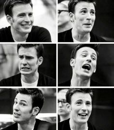 Many faces of Chris :-D