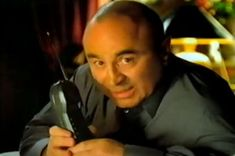 "Bob Hoskins...star of BT campaign ""It is good to talk"" - AMV BBDO"