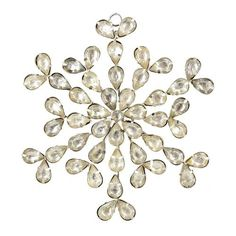 Christmas Decor Rhinestones Flower Ornament Handcrafted by Artisn by ShalinIndia, http://www.amazon.com/dp/B009P24KRS/ref=cm_sw_r_pi_dp_n4JGqb1MSJW45