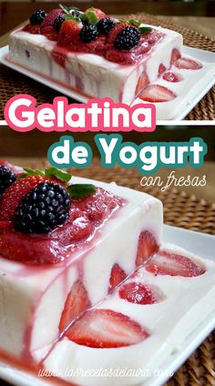 not exactly keto but can be. Gelatin Recipes, Jello Recipes, Yogurt Recipes, Dessert Recipes, Great Desserts, Healthy Desserts, Fruit Buffet, Fruit Smoothie Recipes, Sweet Recipes