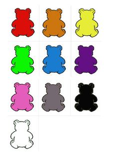 PRINTABLES! Color Bears | Interactive Binder Pages | Labels | Coloring Sheets | TOTSCHOOL School Themes, Tot School, Toddler Learning, Color Card, Anchor Charts, Lowercase A, Coloring Sheets, Teddy Bears, Color