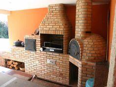 Medidas de churrasqueiras com forno e fog o a lenha for Garage ad buc