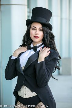 Cosplayer(s) at the 2019 Wondercon - Saturday Zatanna Cosplay, Dc Cosplay, Marvel Cosplay, Best Cosplay, Cosplay Girls, Cosplay Costumes, Anime Couples Manga, Cute Anime Couples, Anime Girls