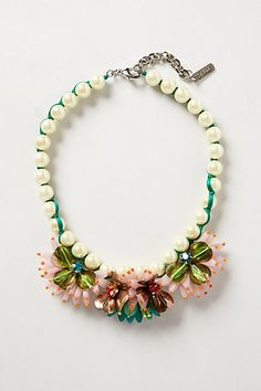 Lily Bib Necklace - anthropologie.com